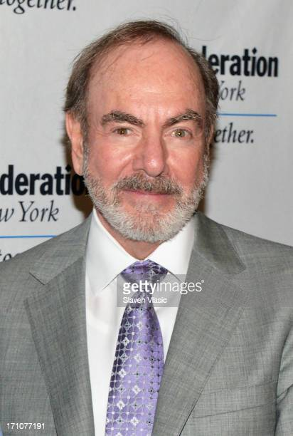 Singer/songwriter Neil Diamond attends UJAFederation Of New York Music Visionary Of The Year Award Luncheon at The Pierre Hotel on June 21 2013 in...