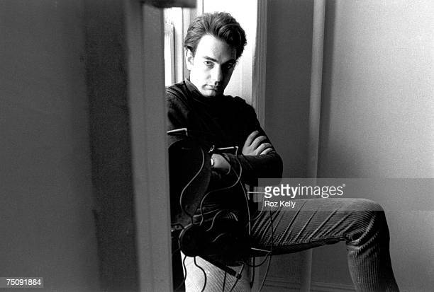 Singersongwriter Neil Diamond poses for a portrait in a New York New York hotel room circa 1966