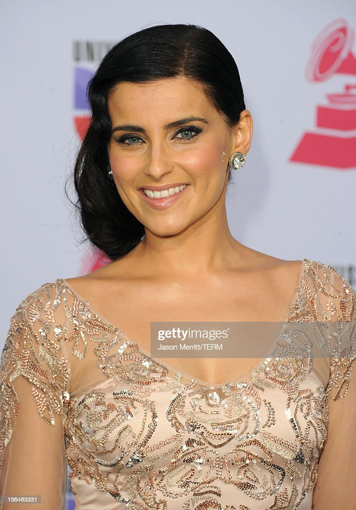 Singer/songwriter Nelly Furtado arrives at the 13th annual Latin GRAMMY Awards held at the Mandalay Bay Events Center on November 15, 2012 in Las Vegas, Nevada.