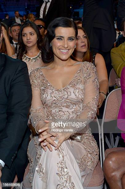 Singer/songwriter Nelly Furtado attends the 13th annual Latin GRAMMY Awards held at the Mandalay Bay Events Center on November 15 2012 in Las Vegas...