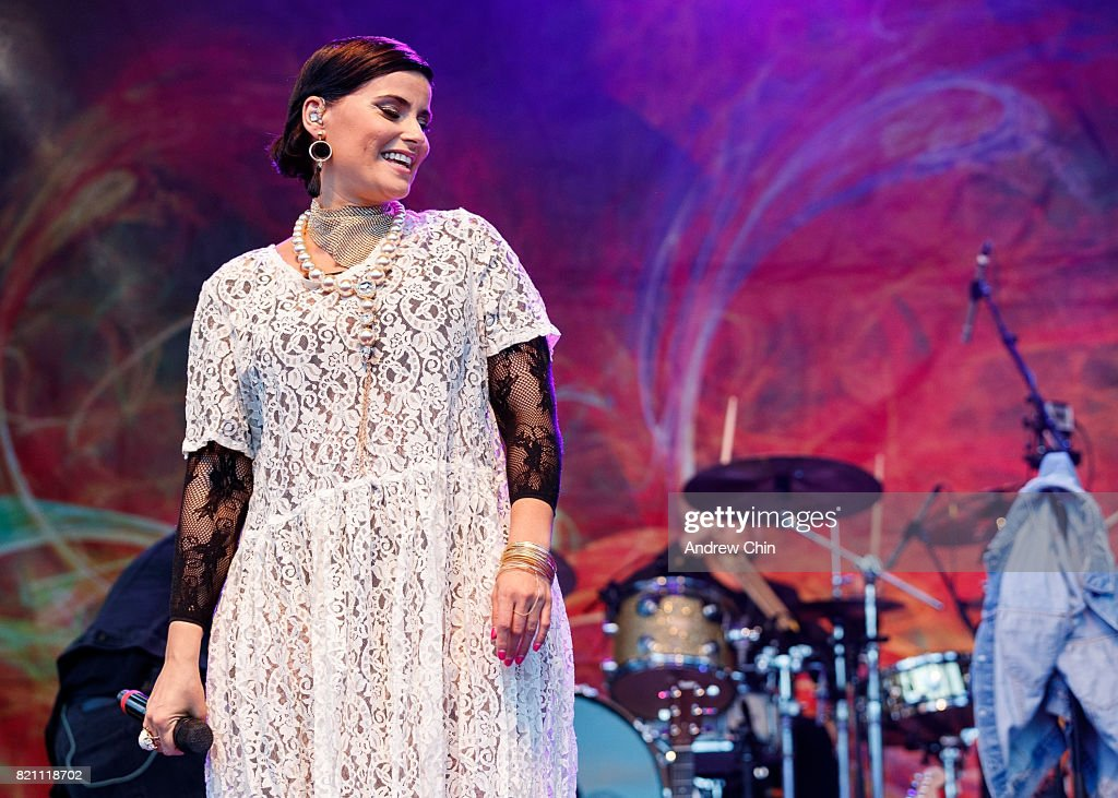 Nelly Furtado Performs At Surrey Fusion Festival : News Photo