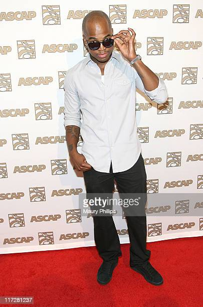 Singer/songwriter NeYo arrives at the 24th Annual ASCAP Rhythm Soul Awards Honoring Sean 'Diddy' Combs at The Beverly Hilton hotel on June 24 2011 in...