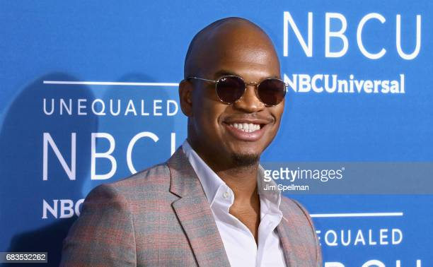 Singer/songwriter NeYo attends the 2017 NBCUniversal Upfront at Radio City Music Hall on May 15 2017 in New York City