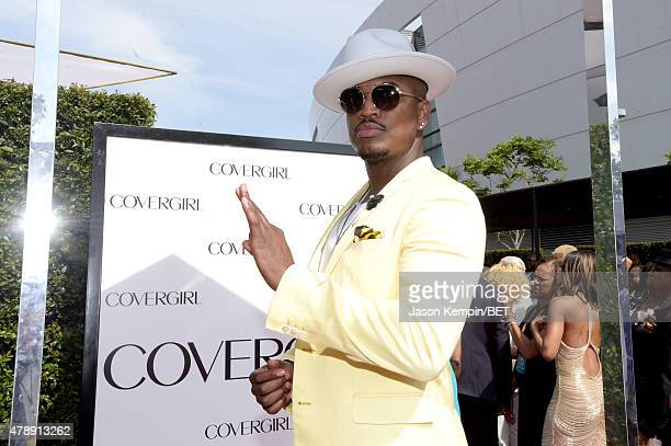 Singersongwriter NeYo attends the Cover Girl Glam Stage during the 2015 BET Awards at the Microsoft Theater on June 28 2015 in Los Angeles California