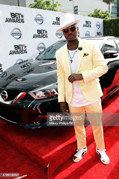 Singer/songwriter NeYo attends the Nissan red carpet during the 2015 BET Awards at the Microsoft Theater on June 28 2015 in Los Angeles California