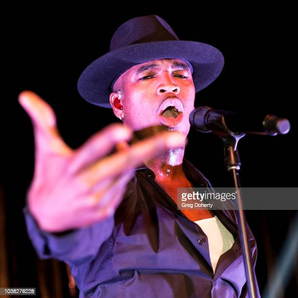 Singersongwriter NeYo performs at the Face Forward's 10th Annual La Dolce Vita Themed Gala at the Beverly Wilshire Four Seasons Hotel on September 22...