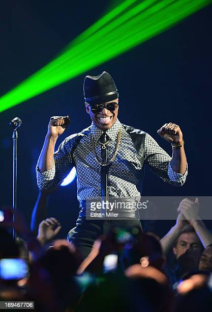 Singer/songwriter NeYo performs during the 2013 Billboard Music Awards at the MGM Grand Garden Arena on May 19 2013 in Las Vegas Nevada