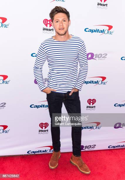 Singersongwriter Niall Horan attends Q102's Jingle Ball 2017 Presented by Capital One at Wells Fargo Center on December 6 2017 in Philadelphia...