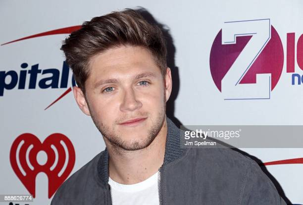 Singer/songwriter Niall Horan attends the Z100's iHeartRadio Jingle Ball 2017 at Madison Square Garden on December 8 2017 in New York City