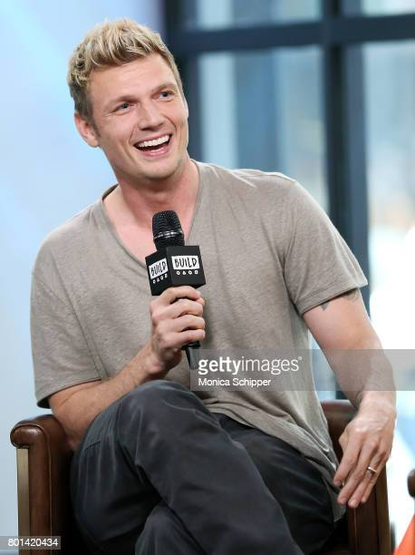 Singersongwriter Nick Carter discusses the new show Boy Band at Build Studio on June 26 2017 in New York City