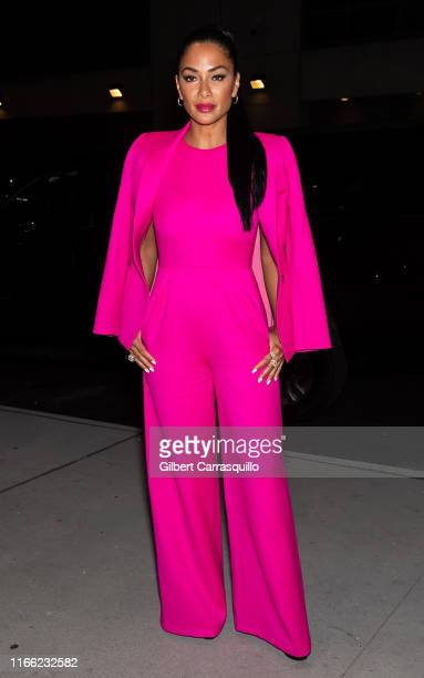 Singersongwriter Nicole Scherzinger is seen arriving to ELLE Women in Music presented by Spotify and hosted by Nina Garcia Jameela Jamil E...