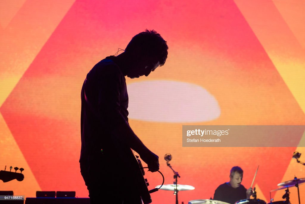 Singer-songwriter Noel Gallagher performs live on stage during a concert at Max-Schmeling Hall on April 16, 2018 in Berlin, Germany.