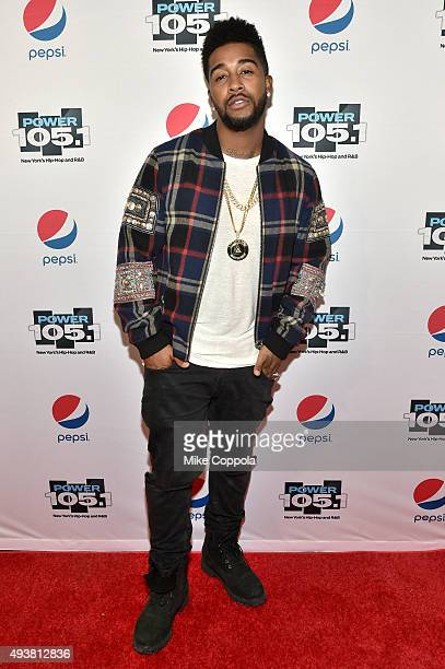 Singersongwriter Omarion attends Power 1051's Powerhouse 2015 at the Barclays Center on October 22 2015 in Brooklyn NY