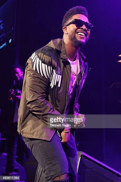 Singersongwriter Omarion performs onstage during 1051's Powerhouse 2015 at the Barclays Center on October 22 2015 in Brooklyn NY