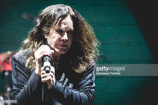 Singersongwriter Ozzy Osbourne frontman of Black Sabbath in concert at the Verona Arena Italian date of The End Tour Verona Italy 13th June 2016