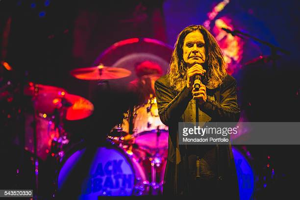 Singer-songwriter Ozzy Osbourne, frontman of Black Sabbath, in concert at the Verona Arena, Italian date of The End Tour. Verona, Italy. 13th June...