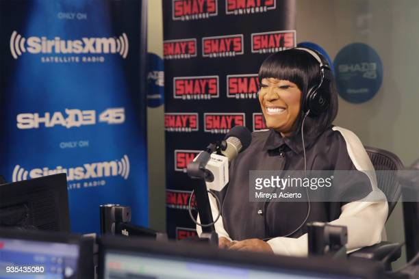Singer/songwriter Patti LaBelle visits SiriusXM Studios on March 20 2018 in New York City