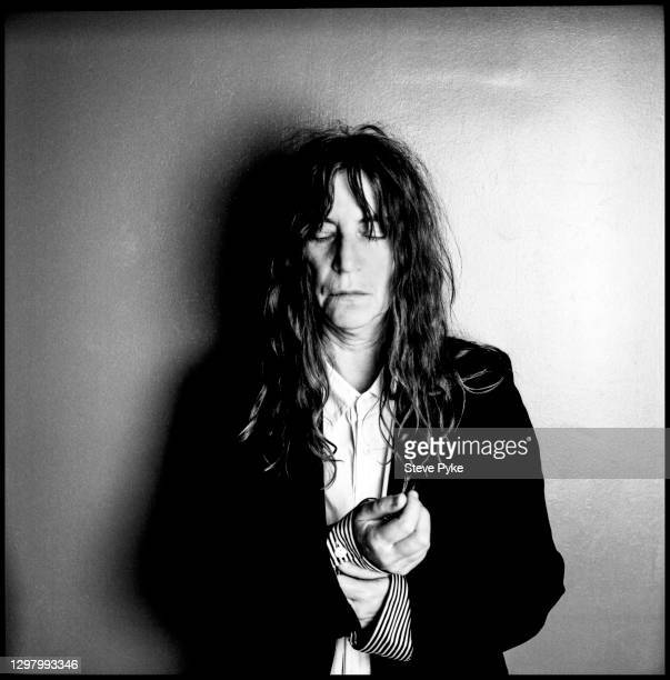 Singer/songwriter Patti Smith is photographed for Self Assignment in 2010 at the New York Public Library in New York City.