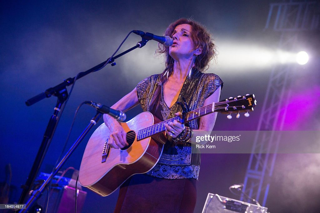 Singer-songwriter Patty Griffin performs in concert at Stubb's Bar-B-Q on October 10, 2013 in Austin, Texas.