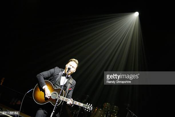 Singersongwriter Paul Freeman performs onstage during The Art of Elysium presents Stevie Wonder's HEAVEN Celebrating the 10th Anniversary at Red...