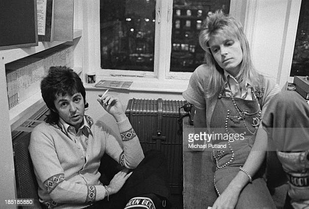 Singersongwriter Paul McCartney and his wife Linda of British rock group Wings 21st November 1973