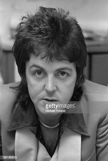 Singersongwriter Paul McCartney of British rock group Wings 23rd November 1973