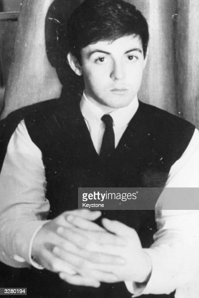 Singersongwriter Paul McCartney of The Beatles