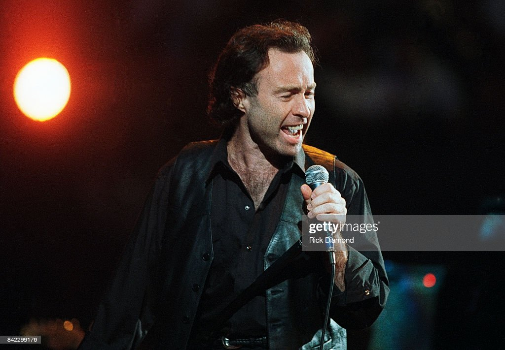 Singer/Songwriter Paul Rogers of Bad Co. performs during Elvis: The Tribute at The Pyramid Arena in Memphis Tennessee October 08, 1994