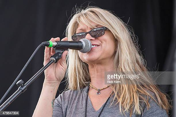 Singersongwriter Paula Nelson performs onstage during Willie Nelsons 4th of July Picnic at Austin360 Amphitheater on July 4 2015 in Austin Texas