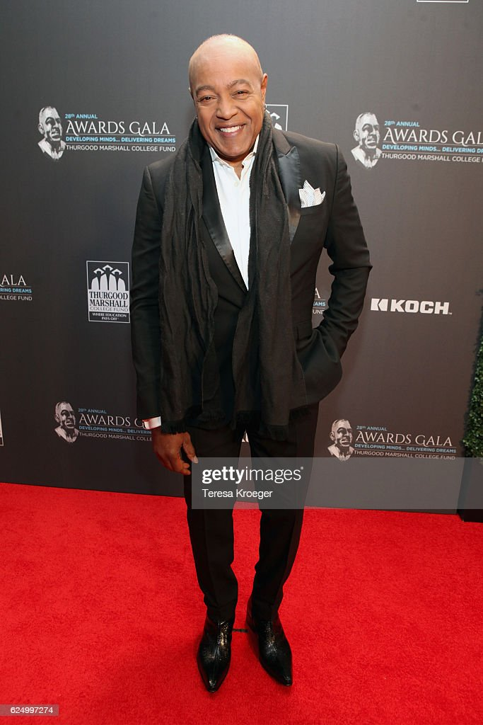 Singer-songwriter Peabo Bryson attends the Thurgood Marshall College Fund 28th Annual Awards Gala at Washington Hilton on November 21, 2016 in Washington, DC.