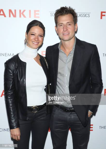 """Singer/songwriter Peter Cincotti and guest attend the special screening of """"Frankie"""" hosted by Sony Pictures Classics and The Cinema Society at..."""