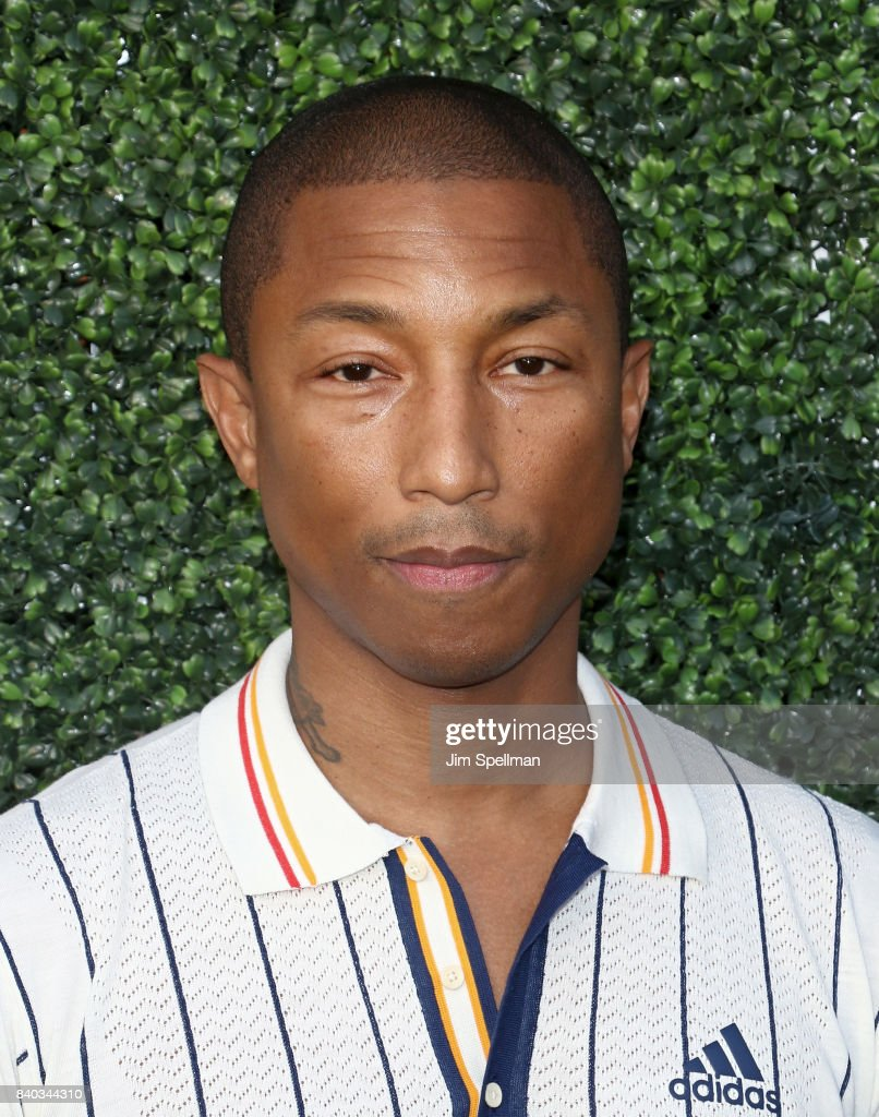 Singer/songwriter Pharrell Williams attends the 17th Annual USTA Foundation Opening Night Gala at USTA Billie Jean King National Tennis Center on August 28, 2017 in the Queens borough of New York City.