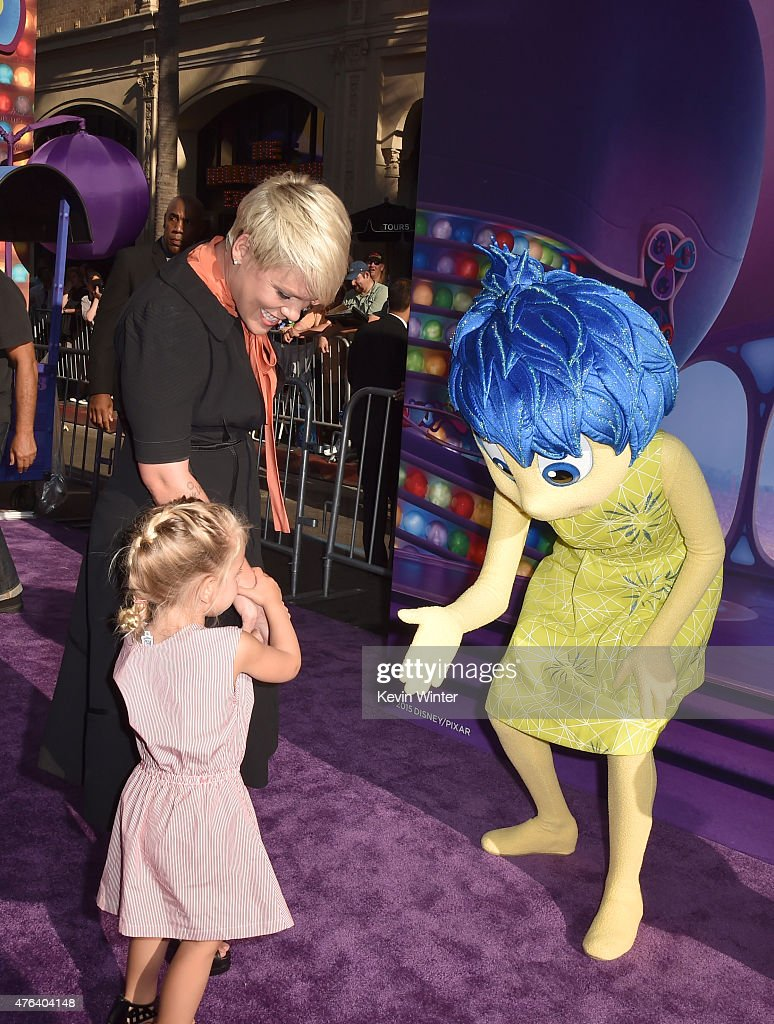 "Premiere Of Disney-Pixar's ""Inside Out"" - Red Carpet : News Photo"