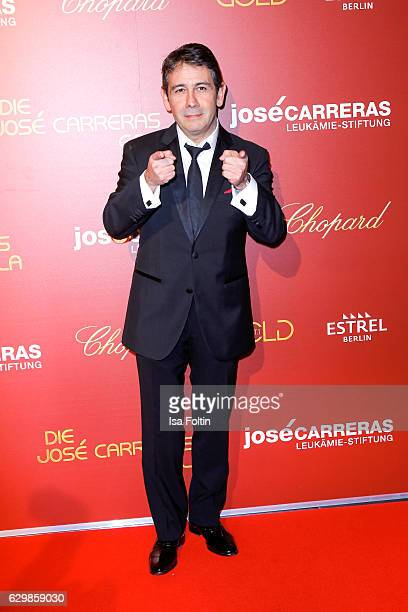 Singersongwriter Placido Domingo Jr attends the 22th Annual Jose Carreras Gala on December 14 2016 in Berlin Germany