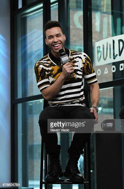 Singer/songwriter Prince RoyceÊvisits Build Sries to discuss National Concert Day produced by LiveNation at Build Studio on May 2, 2017 in New York...
