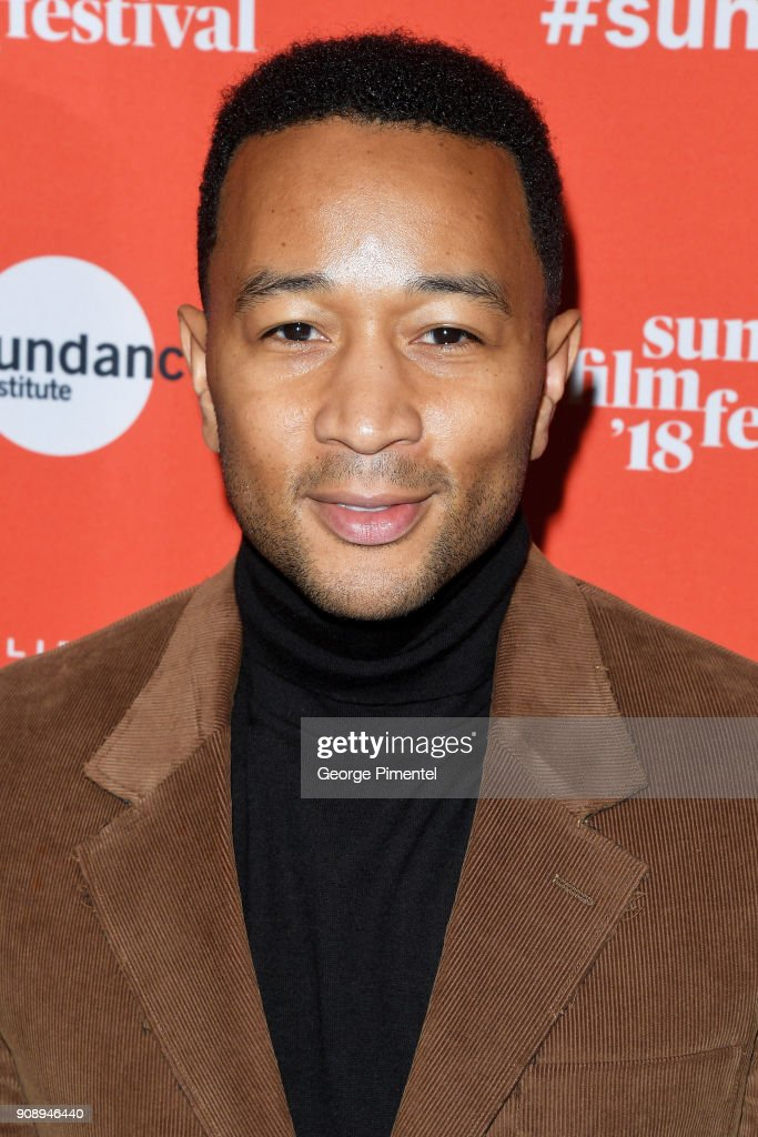 Singer-Songwriter/ producer John Legend attends the 'Monster' Premiere during the 2018 Sundance Film Festival at Eccles Center Theatre on January 22, 2018 in Park City, Utah.