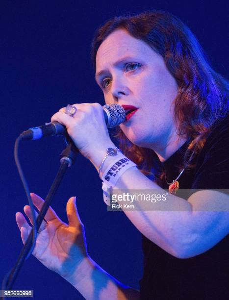 Singersongwriter Rachel Goswell of Slowdive performs onstage during Levitation at Stubb's BarBQ on April 28 2018 in Austin Texas