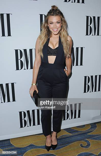 Singersongwriter Rachel Platten attends the 64th Annual BMI Pop Awards at the Beverly Wilshire Four Seasons Hotel on May 10 2016 in Beverly Hills...