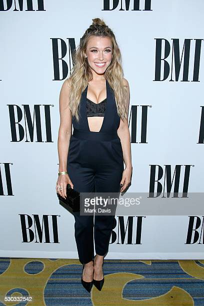 Singersongwriter Rachel Platten attends the 64th Annual BMI Pop Awards held at the Beverly Wilshire Four Seasons Hotel on May 10 2016 in Beverly...