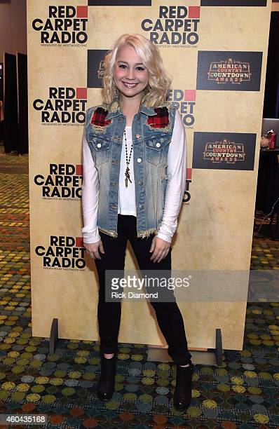 Singer/Songwriter RaeLynn attends Red Carpet Radio Presented By Westwood One For The American County Countdown Awards at the Music City Center on...