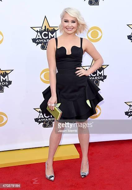 Singer/songwriter RaeLynn attends the 50th Academy of Country Music Awards at ATT Stadium on April 19 2015 in Arlington Texas