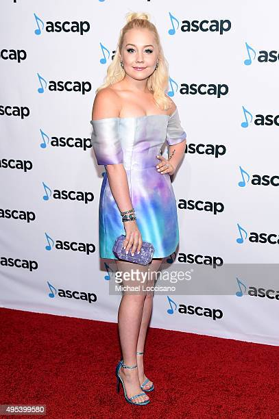 Singersongwriter RaeLynn attends the 53rd annual ASCAP Country Music awards at the Omni Hotel on November 2 2015 in Nashville Tennessee