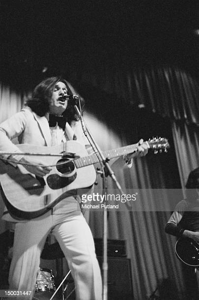Singersongwriter Ray Davies performing with English pop group The Kinks Southampton 3rd February 1972