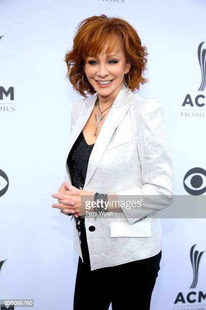 Singersongwriter Reba McEntire attend the 11th Annual ACM Honors at the Ryman Auditorium on August 23 2017 in Nashville Tennessee