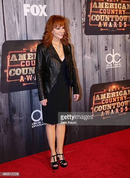 Singersongwriter Reba McEntire attends the 2014 American Country Countdown Awards at Music City Center on December 15 2014 in Nashville Tennessee