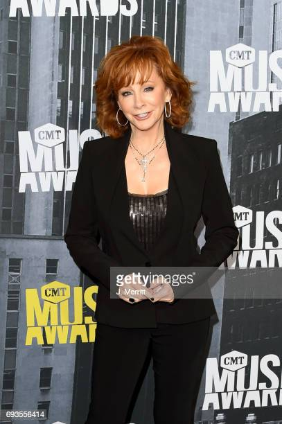 Singersongwriter Reba McEntire attends the 2017 CMT Music Awards at the Music City Center on June 7 2017 in Nashville Tennessee