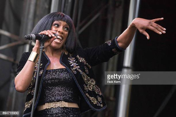Singersongwriter Rhona Bennett of En Vogue perform onstage during Day for Night festival on December 17 2017 in Houston Texas
