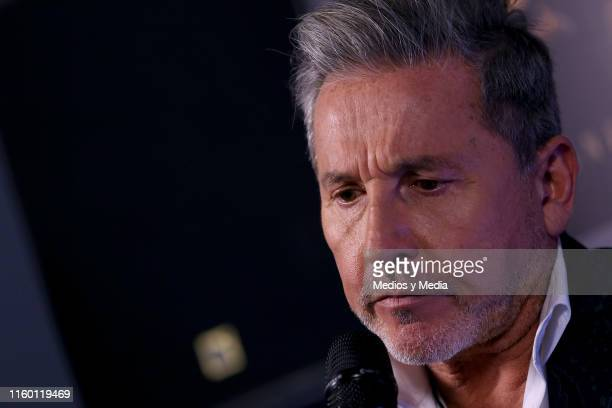 Singersongwriter Ricardo Montaner attends press conference at Casa Lucerna on July 4 2019 in Mexico City Mexico