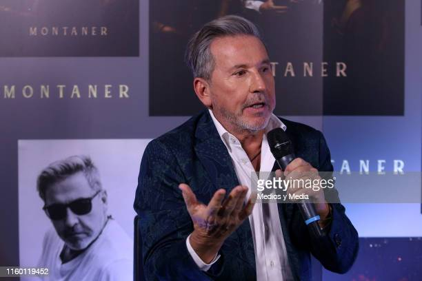 Singersongwriter Ricardo Montaner speaks during a press conference at Casa Lucerna on July 4 2019 in Mexico City Mexico