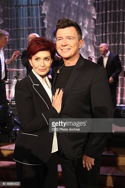 Singersongwriter Rick Astley discusses his new album '50' on 'The Talk' Friday October 14 2016 on the CBS Television Network From left Sharon...